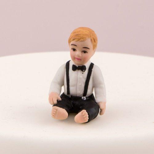 ケーキトッパー 男の赤ちゃん