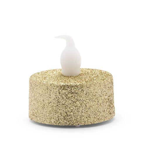 LEDティーライトキャンドル ゴールド