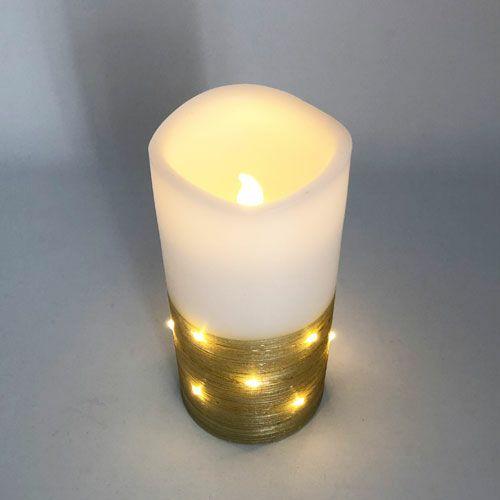 LEDキャンドル ゴールド