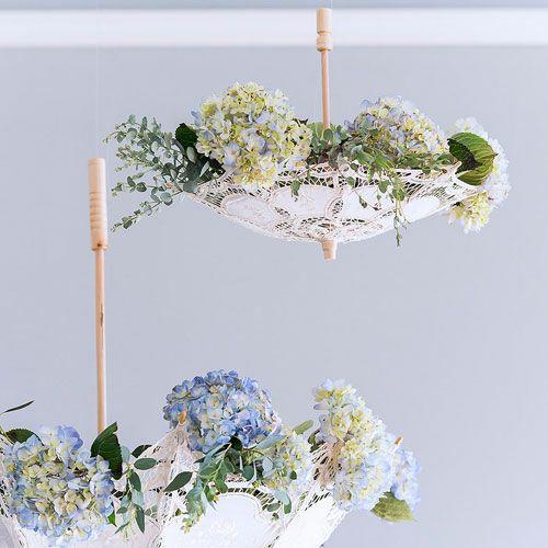 ミニパラソル 花