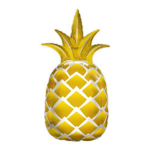 ジャンボバルーン アルミ風船 パイナップル