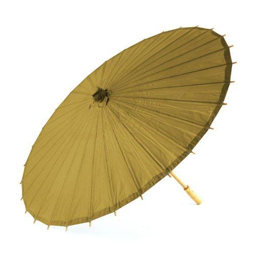 ペーパーパラソル ゴールド 紙傘 金色