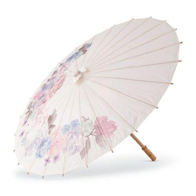ペーパーパラソル 紙傘 花柄