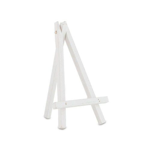 白の木製卓上イーゼル