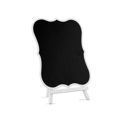 白の縁付きミニ黒板
