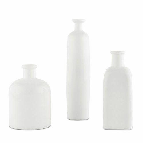 装飾用びん 花瓶 白