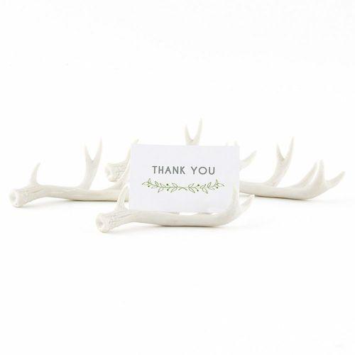 ミニチュア鹿の角 カードスタンド