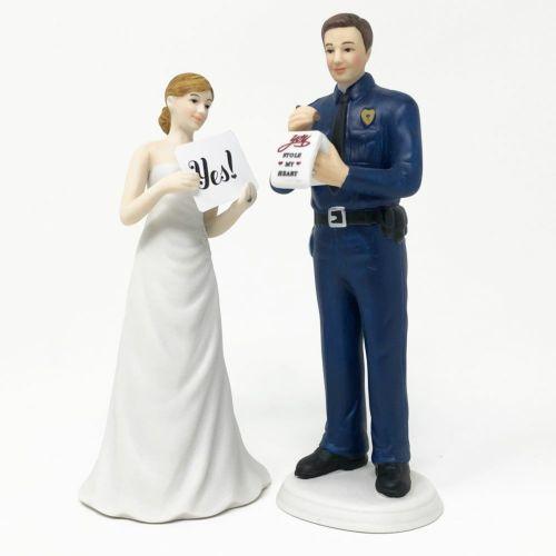 ケーキトッパー 警察官