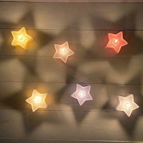 星形キャンドル