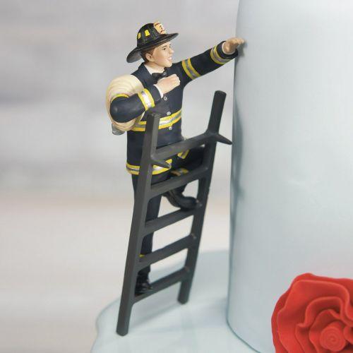 ケーキトッパー 消防士
